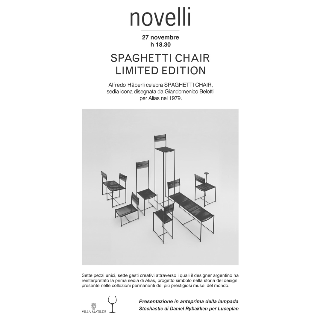 Spaghetti Chair Limited Edition