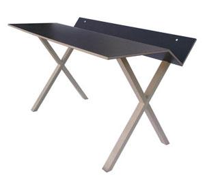 tavolo-scrivania c/ mensola portalibri